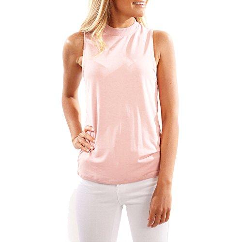 LUNIWEI Women Sleeveless Solid Casual Shirt Tank Crop Top Blouse - 8 Replacement Oakley Lenses Gauge