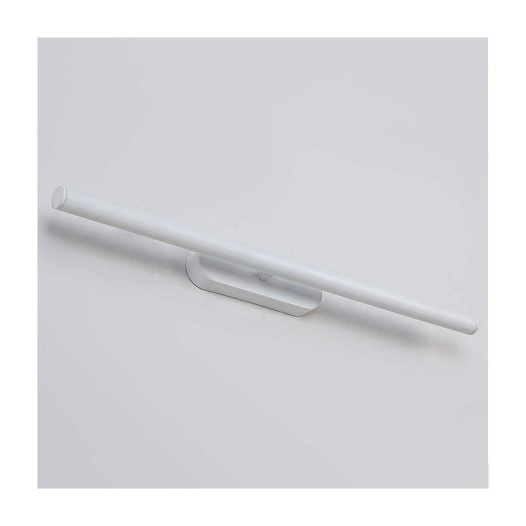 @Badezimmer Lichter LED Spiegel Scheinwerfer Badezimmer Badezimmer Make-Up Lampe Schlafzimmer Spiegel Schrank Lampe Rotierende Wandleuchte Deckenleuchte (Farbe   weißes Licht-58cm)