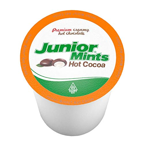 (Junior Mints Hot Cocoa Single Serve Pods, Compatible with 2.0 Keurig, 12Count)