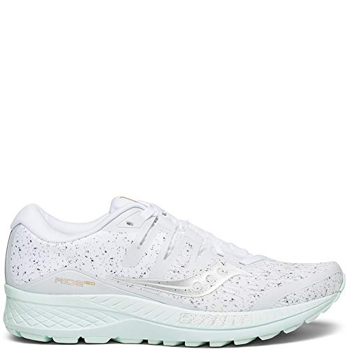 (Saucony Women's Ride ISO Shoes, White, 6.5)
