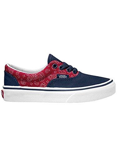 Vans Era - Zapatillas Unisex Niños Azul Oscuro / Rojo