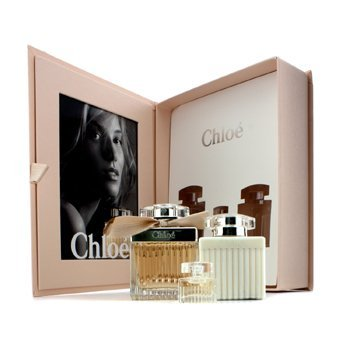 100ml Miniature - Chloe y 75ml/2.5oz + Body Lotion 100ml/3.4oz + Miniature 5ml/0.17oz (Box Slightly Damaged) 3pcs