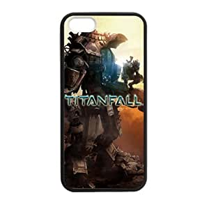 Tt-shop Custom Titanfall 02 Phone Case Cover For iPhone 5, 5S (Laser Technology)