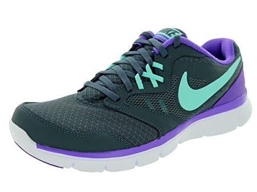 d10a4a9393368 Nike Women s Flex Experience Rn 3 Dk Mgnt Grey Hypr Trq Hypr Grp Running  Shoe 6 Women US - Buy Online in Oman.
