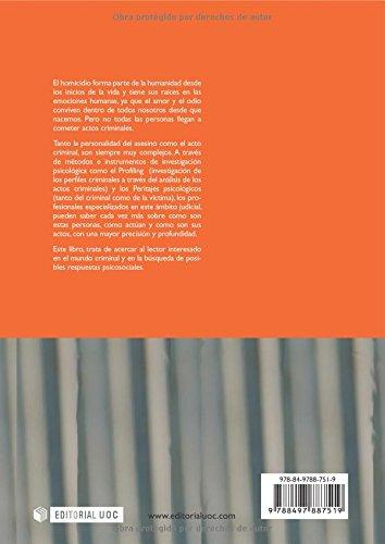 Amazon.com: Profiling. El acto criminal. Prólogo de Gerard Thomás Andreu (Spanish Edition) (9788497887519): Teresa Pont: Books