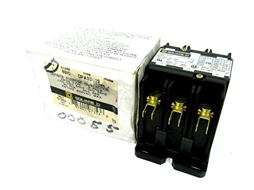 (3 Pole, 30 Amp Inductive Load, 110 Coil VAC at 50 Hz and 120 Coil VAC at 60 Hz, Definite Purpose Contactor)