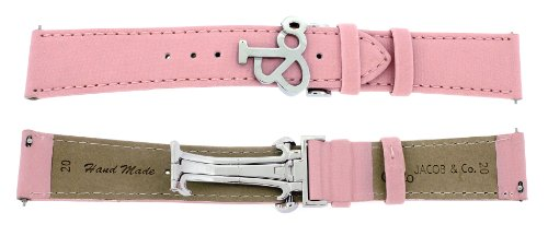 jacob-co-genuine-real-satin-pink-band-strap-20rmm-for-40mm-watch