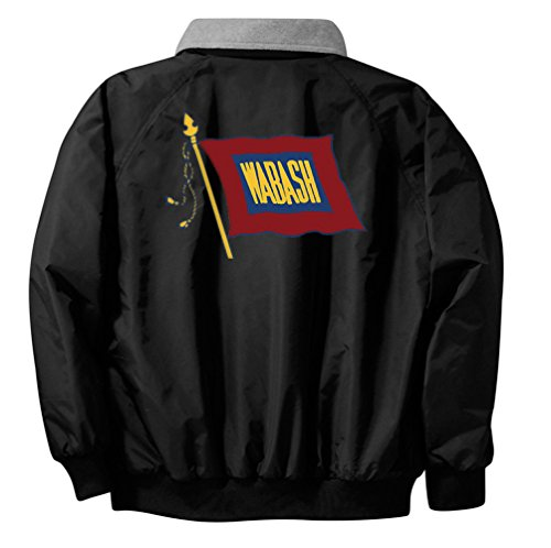 Wabash Railroad Embroidered Jacket Front and Rear Adult for sale  Delivered anywhere in USA