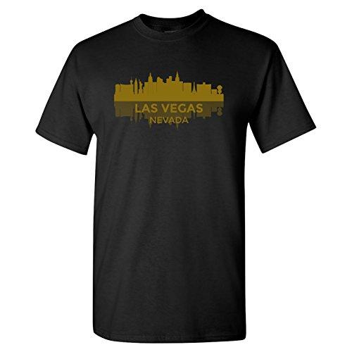 LAS Vegas, Nevada Skyline - Hometown Pride, Nevada Pride T Shirt - 2X-Large - - Vegas Las Town