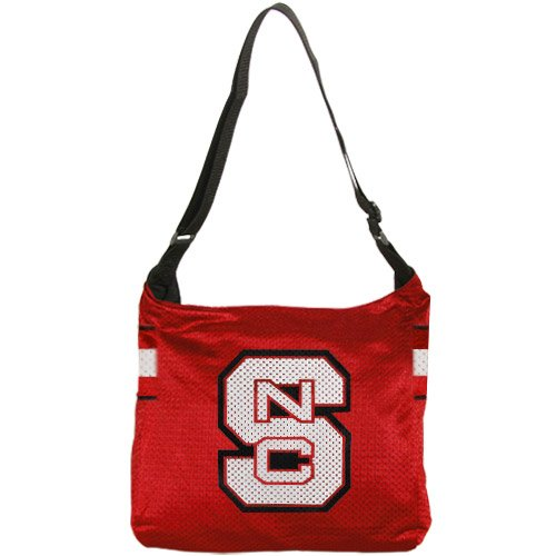 NCAA North Carolina State Wolfpack Ladies Red Veteran Jersey Tote Bag (Veteran Jersey Tote Bag)