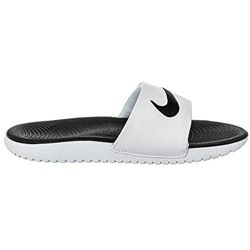 Nike Mænds Kawa Slide Atletisk Sandal Hvid / Sort dICuXCyQ