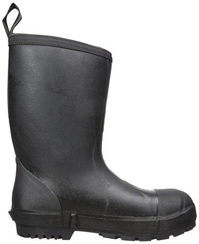 Muck Boot Mens Rutin Resistenta Mitten Stålhätta Arbete Svart