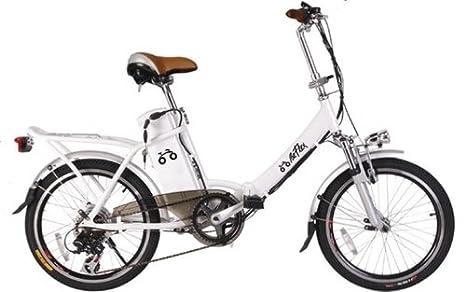 Unieuro Bebikes Beflex Bianco Alluminio 20 24000g Polimeri Di Litio