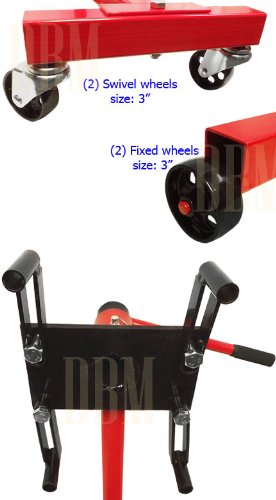 Portable 1000 LBS Mobile Engine Stand Dolly Cart 360 Degree Rotating Heavy Duty by Generic (Image #2)