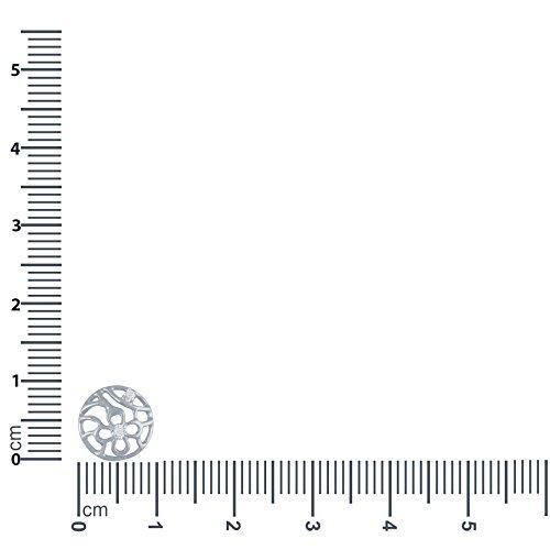 Giantti Diamant Pendentif Femme Collier (0.032CT, qualité HSI, Gh-colour)