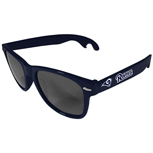 Siskiyou NFL Los Angeles Rams Beachfarer Bottle Opener Sunglasses, Blue