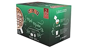 Bailey's Cappuccino Single Serve Cups for Keurig K-Cup Brewers, Mint Mocha, 36 Count