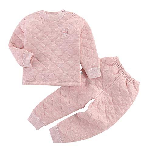 Lunga Unisex Di Termica Biancheria Bozevon Top Rosa Per Età Vestiti Manica 1 E 6 Set Intima Neonato Pantaloni YqzYxURBw