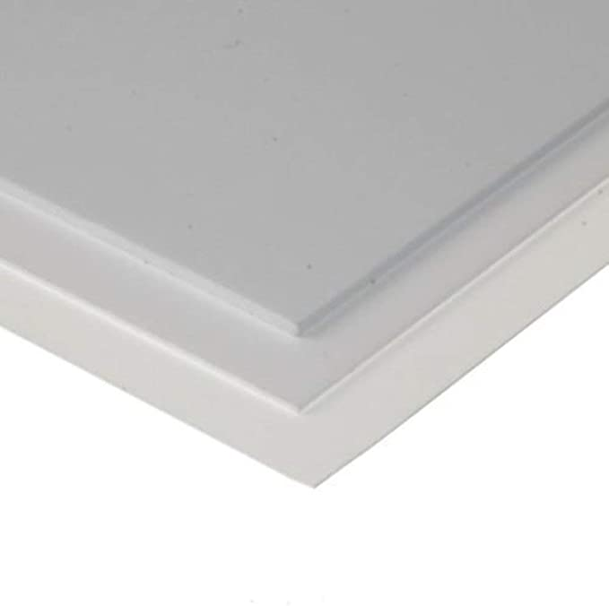 5x//set ABS Plastic Styrene Sheets For DIY House Ship Aircraft Toy Model White