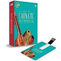Music Card: Best of Carnatic Instrumental - 320 Kbps MP3 Audio (4 GB)