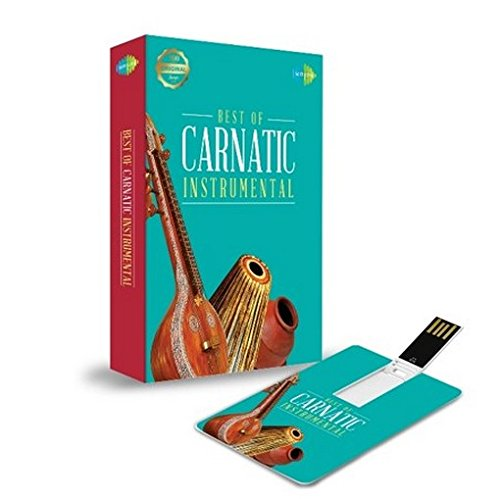 Music Card: Best of Carnatic Instrumental - 320 Kbps MP3 Audio (4 GB)