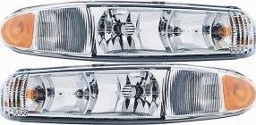 Prime Choice Auto Parts KAPBK10081A1PR Headlight (Headlight Auto Part)