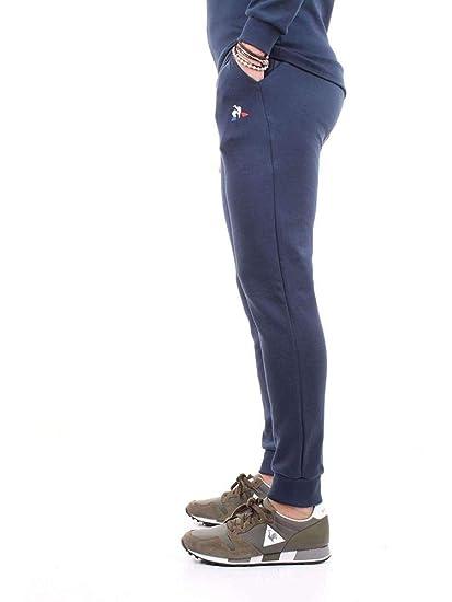 Le Coq Sportif ESS Pant Regular N°1 M Dress Blues Pantalón, Hombre ...