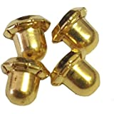 Inverness Replacement Gold Plated Clutches 4 pc