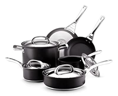 Circulon Infinite Hard Anodized Nonstick 10-Piece Cookware Set Review