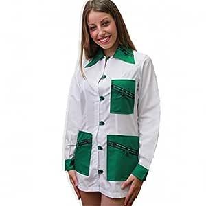 Fratelliditalia Camisas Corto para Mujer Algodón Trabajo coloniali ...