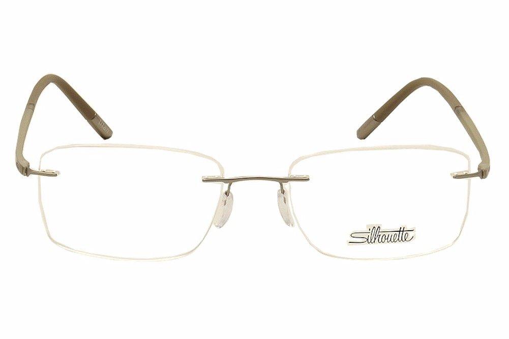 Amazon.com: Silhouette Men\'s Eyeglasses Fusion Chassis 5479 6051 ...