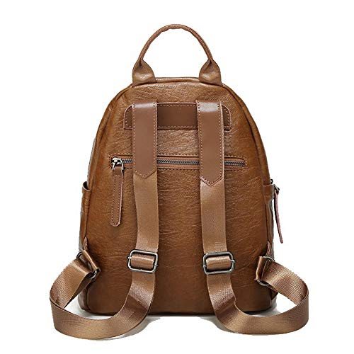 Women's Shoulder AgooLar Pu GMDBB194341 Shopping Bags Casual Bags Brown Zippers Brown Tote pw0qwd