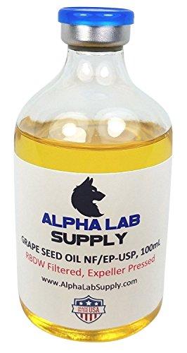 Grape Carrier (Grape Seed Oil 100% Sterile Filtered USP GRADE 100mL Glass Vial)