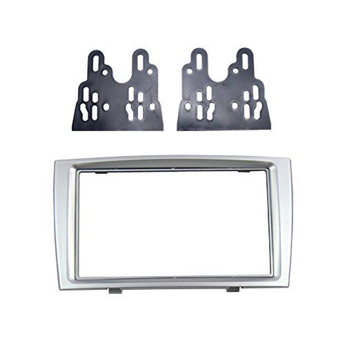 FEELDO Car Double Din DVD Radio Fascia Frame for PEUGEOT 308/408 Dashboard Panel Mount Installation Adapter Trim Kit