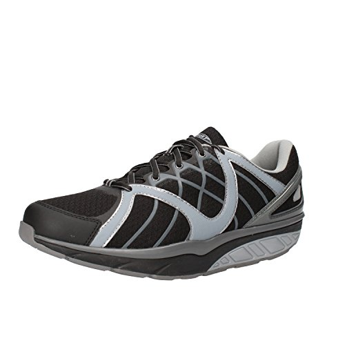 MBT Sneakers Men 8/8.5 US - 42 EU Grey / Black Textile