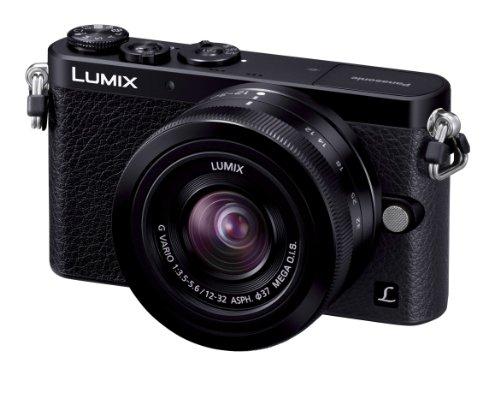 パナソニック ルミックスDMCGM1 ブラック レンズキット ルミックスGバリオ 1232mm F3.55.6 ASPH.MEGA O.I.S.