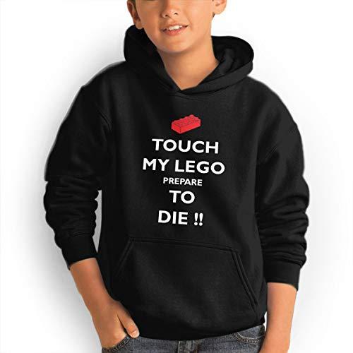 Touch My Lego Prepare to Die Youth Boys/Girls Hoodie Sweatshirt Hooded with Pocket - Die Kids Sweatshirt