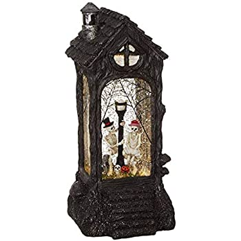 RAZ Imports Skeleton Lighted Water Lantern 11