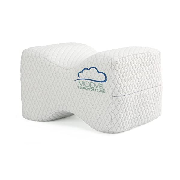Modvel Orthopedic Knee Pillow Hip Memory Foam Knee Sciatica /& Lower Back...