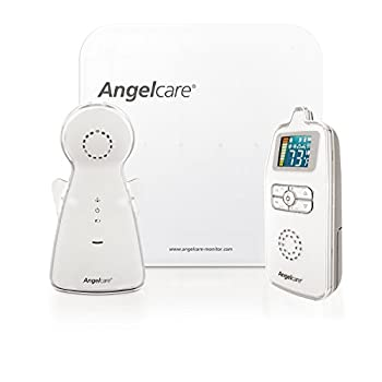 Image of Angelcare AC403 Movement and Sound Monitor, White Baby