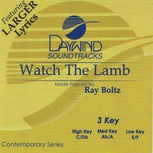 Watch The Lamb [Accompaniment/Performance Track]