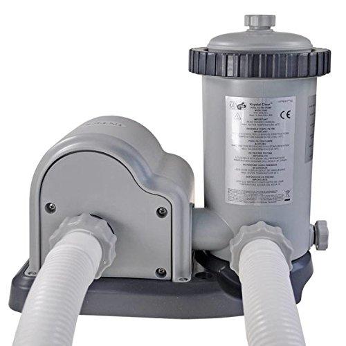 Intex Kartuschenfilteranlage, Typ OPTIMO 5700, grau, 5,678 l/h / 165 W / 230 V