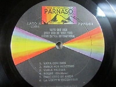 LUCHO GATICA INTERNATIONAL-VAYA CON DIOS-MAY GOD BE WITH YOU-LP PARNASO-VG