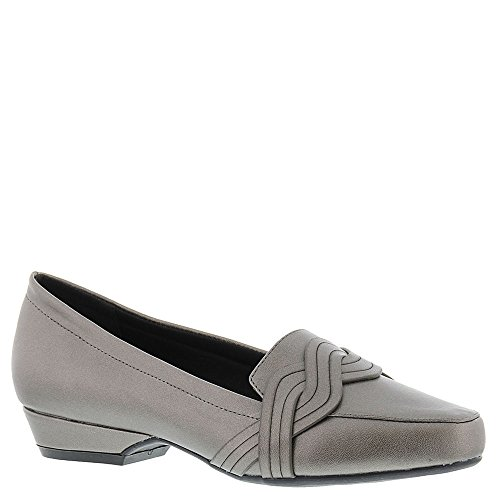 Beacon Frauen Tailored Dress Pump Loafers Pewter