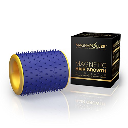 Magnaroller Scalp Massager For Hair Growth-Hair Loss Treatment for Men and Women with Thinning, Dry and Dull Hair-Increases Blood Flow to the Scalp and Hair Follicles for Thicker, Healthier Hair.