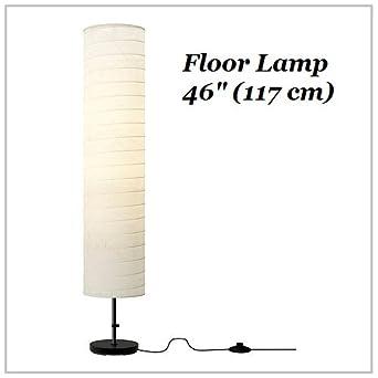 ikea floor lamps lighting. IKEA Floor Lamp 46 Contemporary Style Modern Soft Lighting HOLMO White New Ikea Lamps