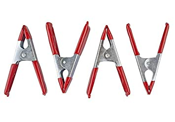 """4 Pack 4/"""" Spring Action Clamps"""