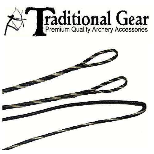 FLEMISH - Fast Flight Plus - REPLACEMENT RECURVE BOWSTRING - BOW STRING - ACTUAL STRING LENGTH - By Traditional Gear Archery Products (Multiple Sizes) (54'')