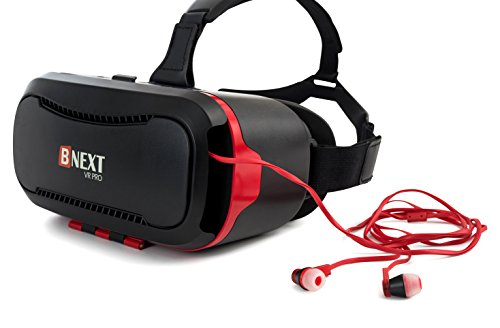 d564f8112901 Premium VR Headset for iPhone and Android Phones – Virtual Reality Goggles  – Play your Best Mobile 3D Games ...