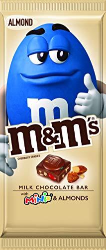 M&M's M&M'S Almond & Minis Milk Chocolate Candy Bar, 3.9-Ounce Bar, 3.9 oz (Almond Milk Baking)